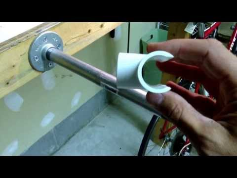How To Make An Easy DIY Bike Stand For Less Than $20!!