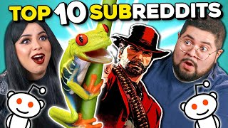 Adults React To Top 10 Subreddits Of All Time