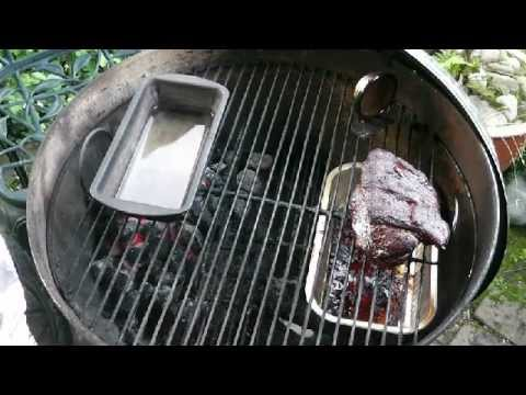 How to cook pulled pork on a Weber kettle BBQ