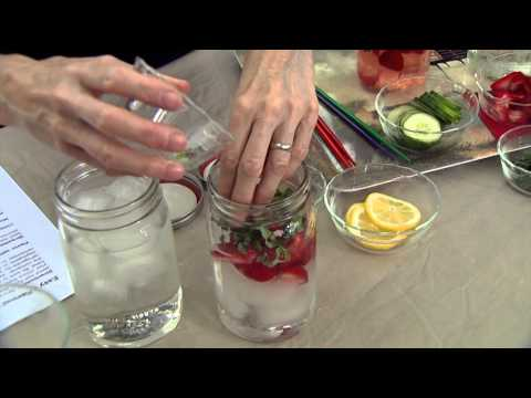 Fruit and Herb Flavored Water
