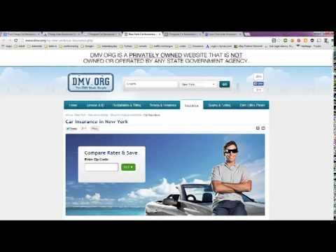 Free Cheap Car Insurance Quotes in NYC, New York City