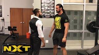 Andrade Almas interrupts Drew McIntyre