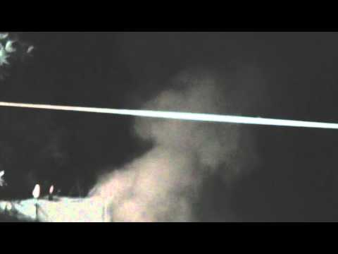 The Hydrogen Cannon 1st test
