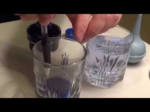 How to Clean a Fountain Pen with Converter