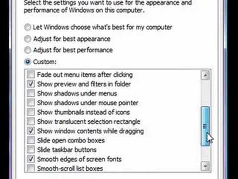 How To Make Windows Vista Run Faster ( No Program Needed )