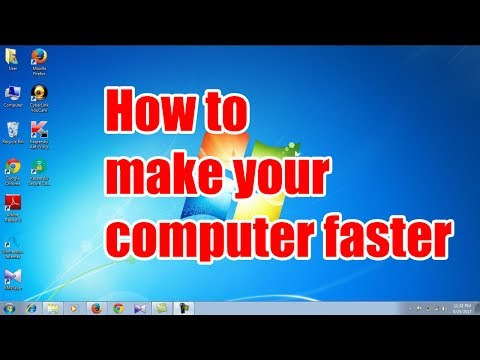 How to make your computer faster 2017