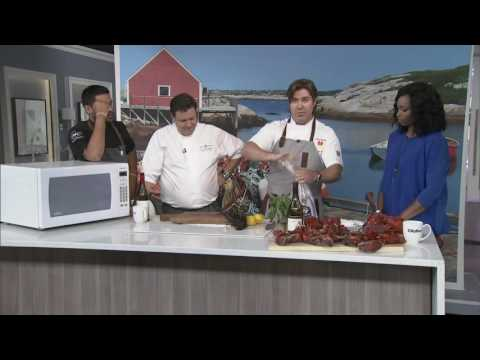 Cooking lobster in the microwave