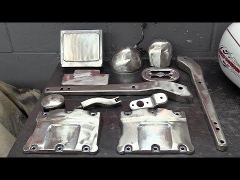 Delboy's Garage, Project FoXDaWG, Days 15 & 16, Final Chrome Strip