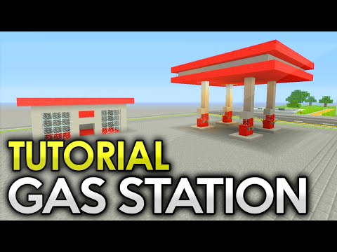 Gas Station Tutorial Minecraft Xbox/Playstation/PE/PC/Wii U