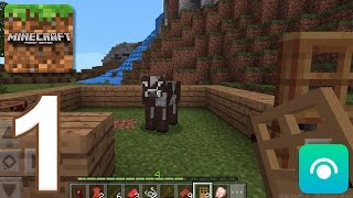Minecraft: Pocket Edition - Gameplay Walkthrough Part 1 (iOS, Android)