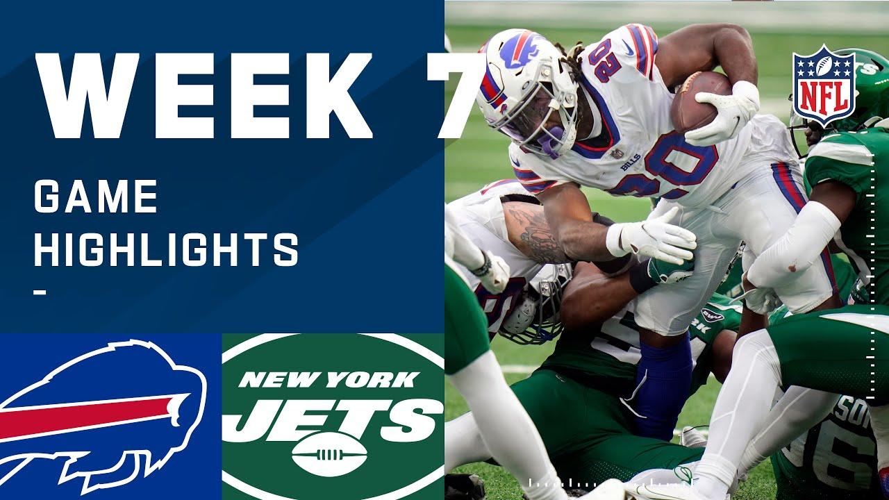 Bills vs. Jets Week 7 Highlights | NFL 2020