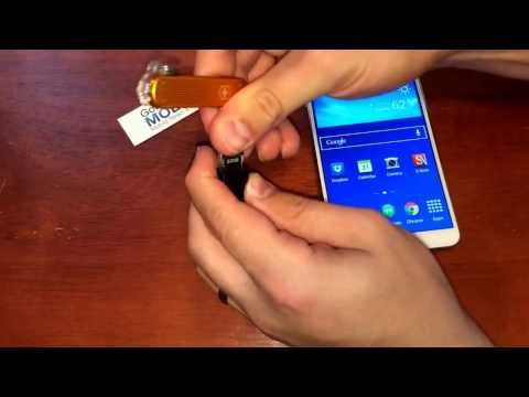 How to use a USB Drive with the Galaxy Note 3