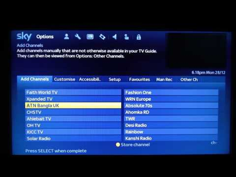 How to tune Sky box to Made In Bristol