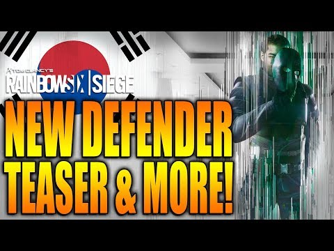 Rainbow Six Siege - In Depth: NEW Defender Teaser & MORE! Operation White Noise