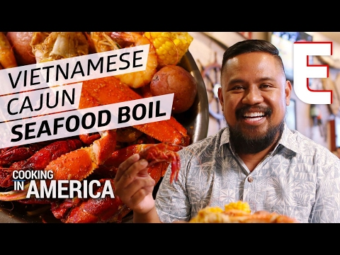 The Crawfish Boil Combining Cajun and Vietnamese Cooking Techniques — Cooking in America