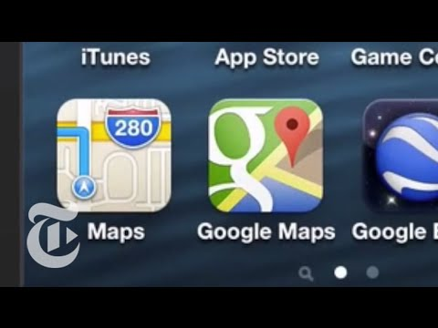 Google Maps App for iPhone Reviewed - 60 Seconds With Pogue | The New York Times