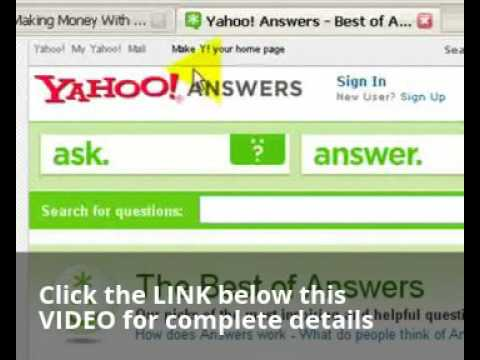 How To Get Massive Free Website Traffic With Yahoo Answers