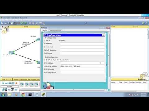 Cisco CCNA ITN Practice 6 Exam PT