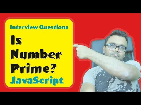 Algorithm Is given Number Prime?