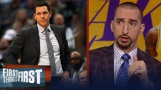 Nick Wright: Luke Walton deserves to be fired after Lakers