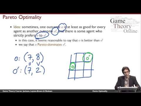 GTO-1-10: Pareto Optimality
