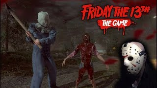 Friday the 13th the game - Gameplay 2.0 - Jason part 2