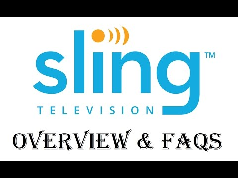 Sling TV Live Streaming TV Service Overview and FAQs - Review - Updated 2017