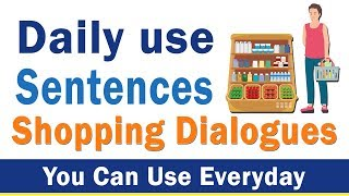 6 52 MB] Download Daily use Sentences - Shopping dialogues