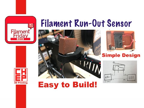 How to make a Simple 3D Printer Filament Run-Out Sensor Alarm