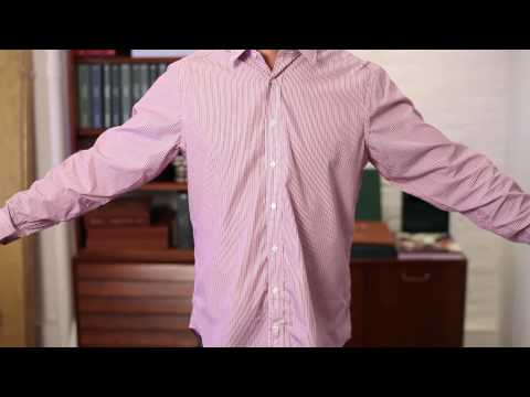 What Is the Classic Fit for Men's Shirts? : Men's Fashion Tips