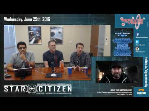 Star Citizen: June Subscriber's Town Hall feat. Engineering Team