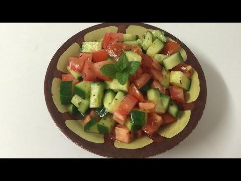 How To Make Lebanese Salad - by EasyLifeسلطة لبنانية سهلة جداً