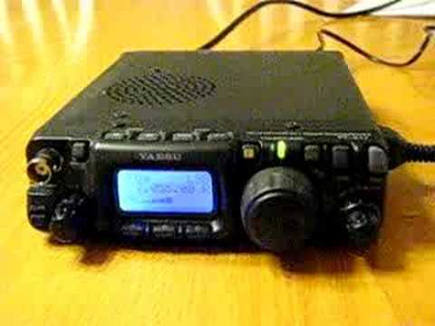 QRP 5w DX Contact to YN2YV Nicaragua from Canada Using FT817