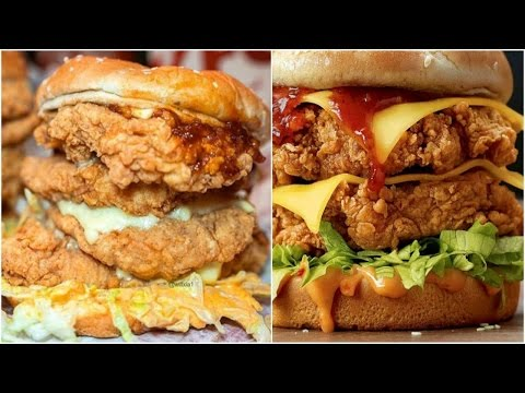 Zinger Burger Recipe By Food In 5 Minutes