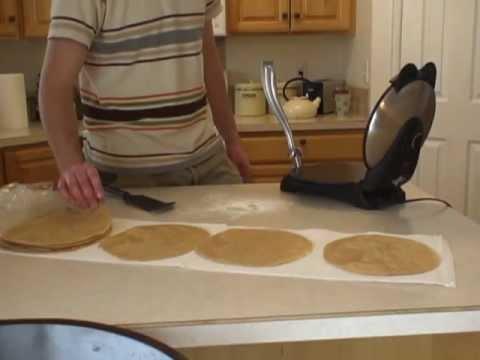 Making Whole Wheat Tortillas