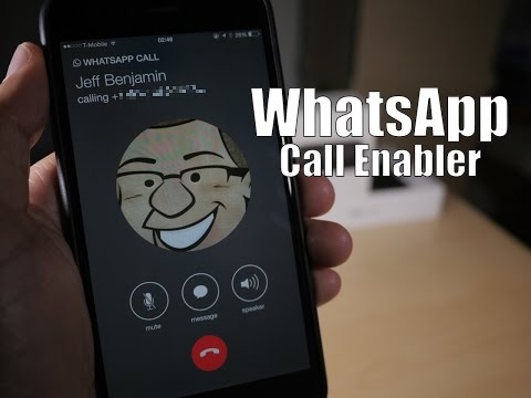 Cydia Tweak: WhatsApp Call Enabler - enable WhatsApp VOIP calling on iPhone
