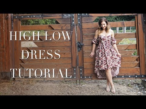 DIY   High Low Dress   Boning Tutorial   Szilvia Bodi