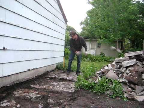 Sledgehammer Concrete Removal