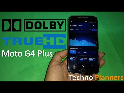How to Install Dolby Digital Atmos on Moto G4 Plus