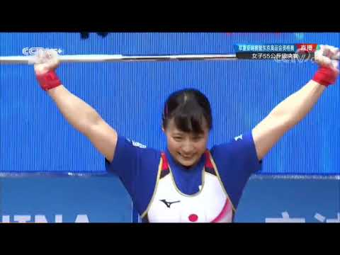 Xxx Mp4 2019 Asian Weightlifting Championships 55kg Women Full Session 3gp Sex