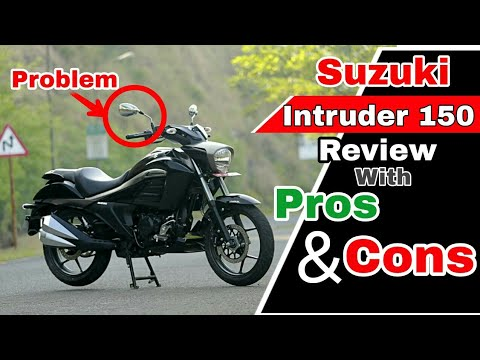 Suzuki Intruder 150 Review with Pros & Cons, Buy.? Honest Opinion, vs Bajaj Avenger