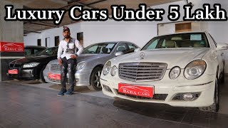 Luxury Cars Under 5 Lakh | Mercedes , BMW , Pajero , Fortuner | My Country My Ride