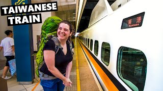 Taiwan Train Travel: High Speed Train From Kaohsiung To ... ?!