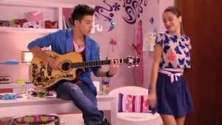 """Violetta: Violetta a Federico zpívají """"En mi mundo"""" (Epizoda 61)"""