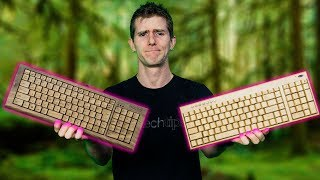 $1,400 Wooden Keyboard vs. a $40 one