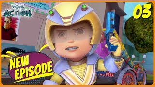 BEST SCENES of VIR THE ROBOT BOY | New Episode | Animated Series For Kids | #03 | WowKidz Action