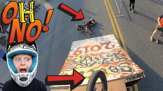 What Would YOU Do?!?! Crazy BMX Day!