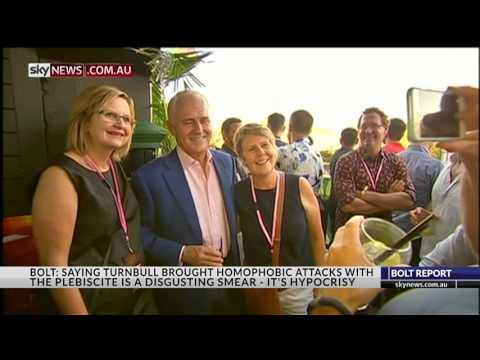 Malcolm Turnbull Dis-invited from Sydney's Mardi Gras - The Bolt Report - 15 Nov'16