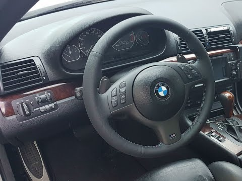 DIY: BMW E46 SMG PADDLE SHIFTERS INSTALL ON STEPTRONIC