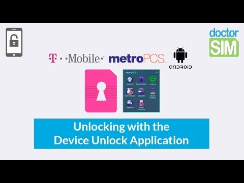 How to Unlock any T-Mobile or MetroPCS Android Phone with the Device Unlock App